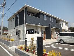 愛媛県松山市星岡4丁目の賃貸アパートの外観