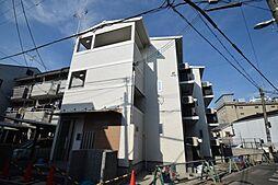 大阪府大阪市生野区桃谷3の賃貸アパートの外観