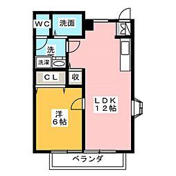 コートヤード[2階]の間取り