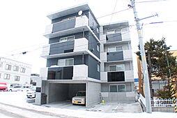 北海道札幌市白石区栄通16の賃貸マンションの外観