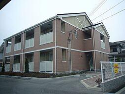 兵庫県明石市魚住町住吉2丁目の賃貸アパートの外観