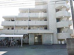 川越マンション[105号室]の外観