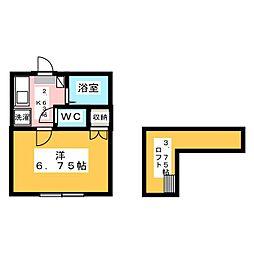 ネクステージ西川田第5[1階]の間取り
