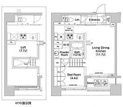 コンフォリア新川[5階]の間取り