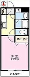 ソーレ・フェラーラ[1階]の間取り