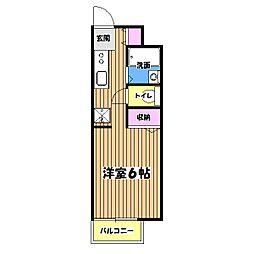 ハイツ93[2階]の間取り