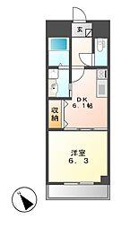 M−stage Aoi[2階]の間取り