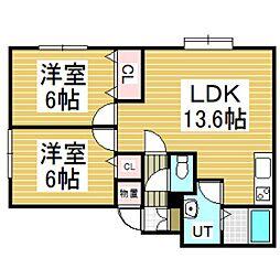 A's4117[2階]の間取り