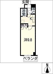 プラーチドII[1階]の間取り