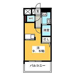 エンクレスト博多駅東II[9階]の間取り