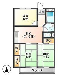 川村ビル[3階]の間取り