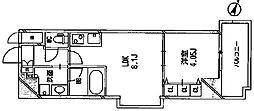 アーデン四ツ橋プライマリーワン[11階]の間取り