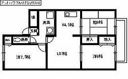 アットハウスMATSUTANI 2[1階]の間取り