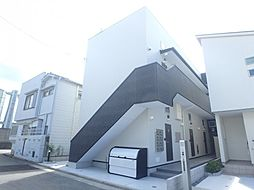 大阪府堺市堺区香ヶ丘町2丁の賃貸アパートの外観