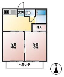 昭和コーポ第3[2階]の間取り