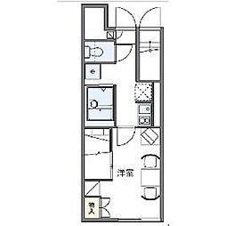 レオパレスステラII[2階]の間取り