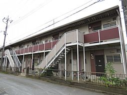 カマダハイツA[2階]の外観