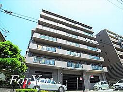 兵庫県神戸市灘区記田町2丁目の賃貸マンションの外観