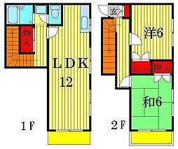 [テラスハウス] 東京都葛飾区立石4丁目 の賃貸【/】の間取り