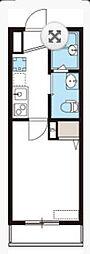 NK HOUSE[202号室]の間取り
