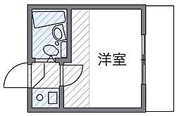 高井戸[105号室]の間取り