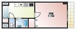 サンピリア小阪[506号室]の間取り