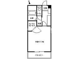 QUA21[3階]の間取り