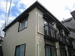 東京都立川市錦町3丁目の賃貸アパートの外観