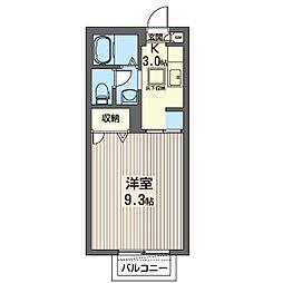 コモンシティー[1階]の間取り