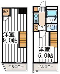 レアル寺田町[601号室]の間取り