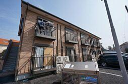 東京都調布市多摩川4丁目の賃貸アパートの外観