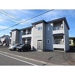 北海道北見市曙町の賃貸アパートの外観