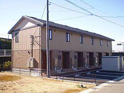 富山県富山市金泉寺の賃貸アパートの外観