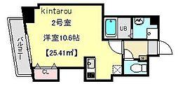 OULU千葉中央[402号室]の間取り