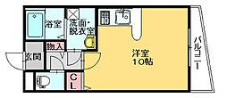 第7ホウシュウコーポ[5階]の間取り
