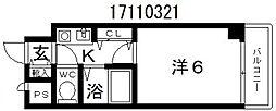 アヴァンセ播磨町[8階]の間取り