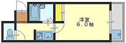 大宝長田ル・グラン[8階]の間取り