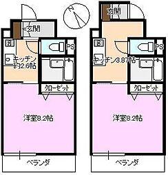 長野県上田市天神1丁目の賃貸マンションの間取り