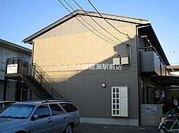 岡山県岡山市北区広瀬町の賃貸アパートの外観