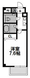 レークス新大阪ウエスト[603号室]の間取り