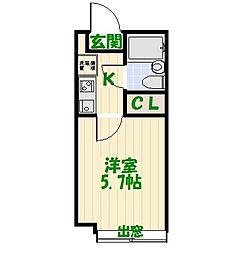 綾瀬ピースベルJ[2階]の間取り