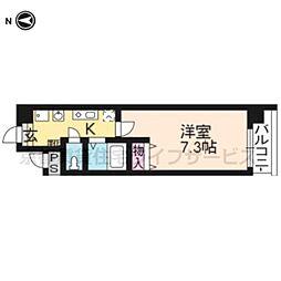 五条高倉VIVREII[504号室]の間取り