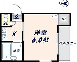 ランドハウス[301号室]の間取り