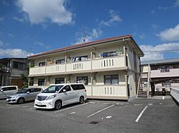 広島県東広島市西条中央7丁目の賃貸アパートの外観