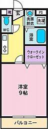 ツカダハイムII[2階]の間取り