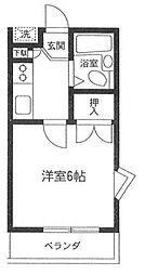 遠藤ハイツ[2階]の間取り