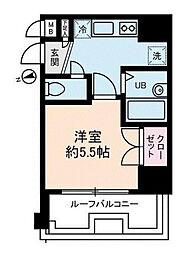 アヴィニティー品川戸越[4階]の間取り