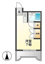 サンファミリー鈴木[8階]の間取り