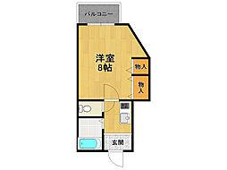 御園第6マンション[2階]の間取り