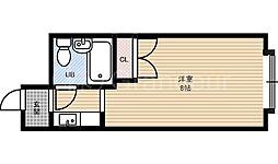 シャンポール中野[4階]の間取り